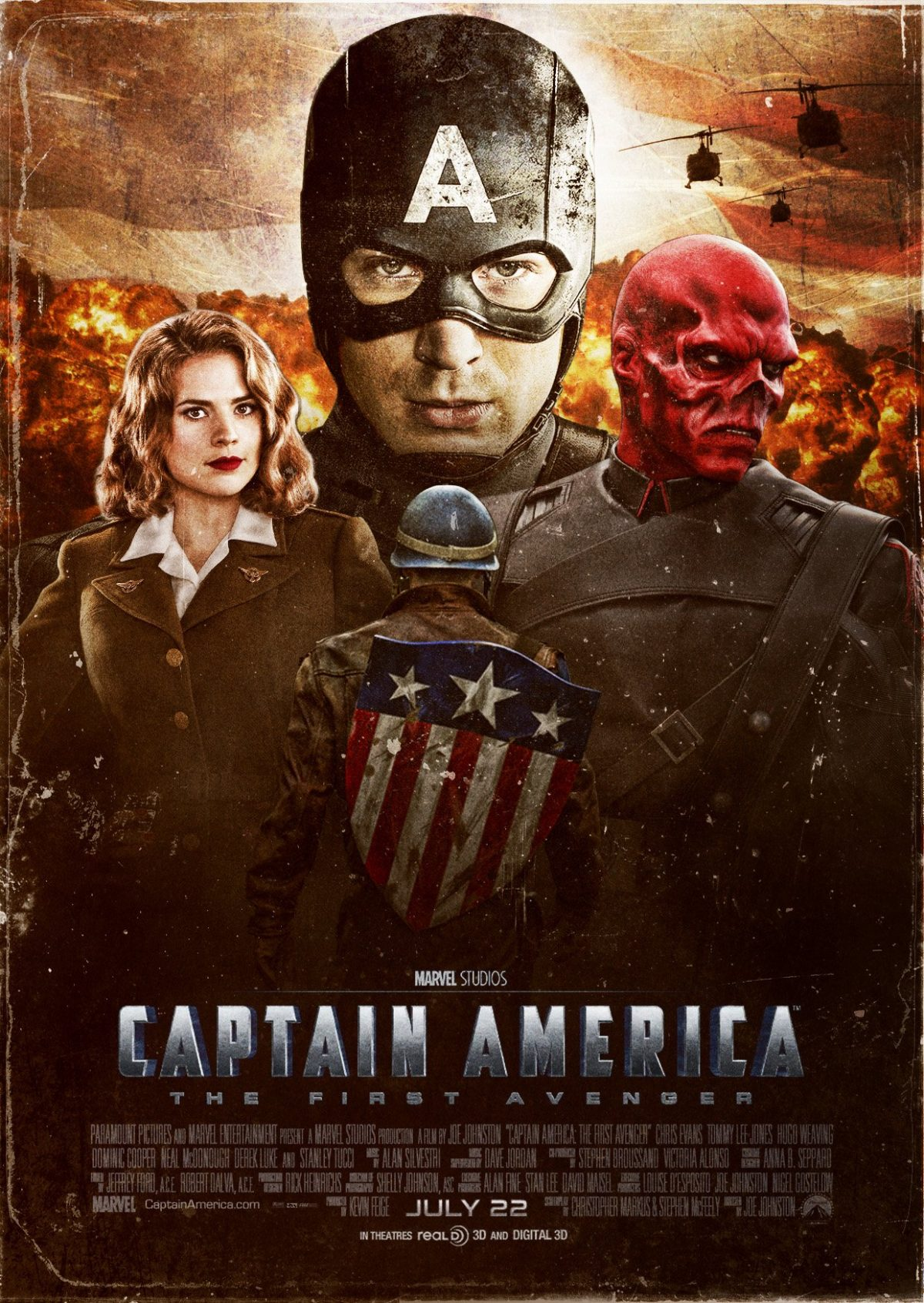 Captain America The First Avenger | กัปตันอเมริกา อเวนเจอร์ที่ 1 (2011)